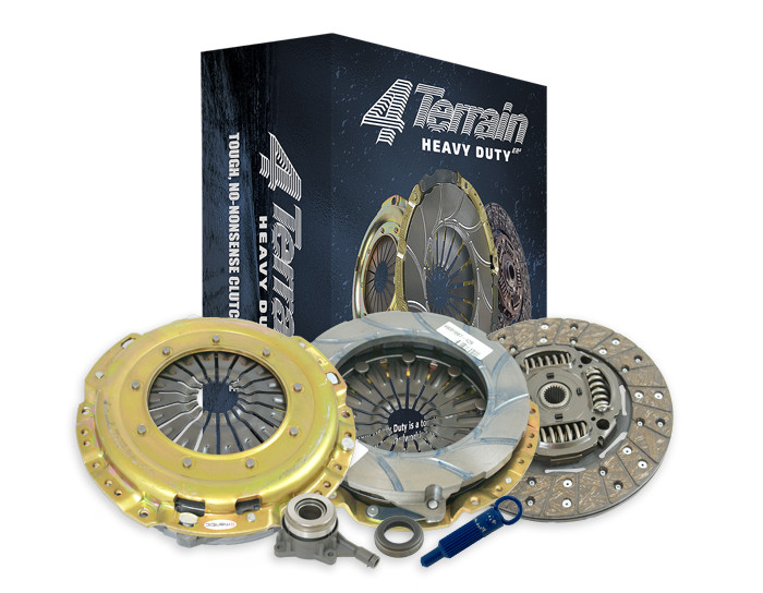 4THD Clutch Kit inc CSC